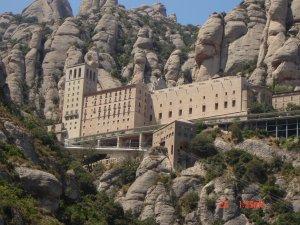 Op 720 meter hoogte: Het klooster van Monserrat